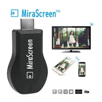 HDMI Dongle Adapter USB Cable 1080P To Projectors TV Computer Display MiraScreen 2 4G Airmirroring Chromecast