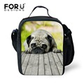 Stylish Kids Lunch Bag 3D Lovely Dog Insulated Lunchbox for Kids Cute Travel Thermal Bag Small Lunch Bag Lancheira Picnic Bag