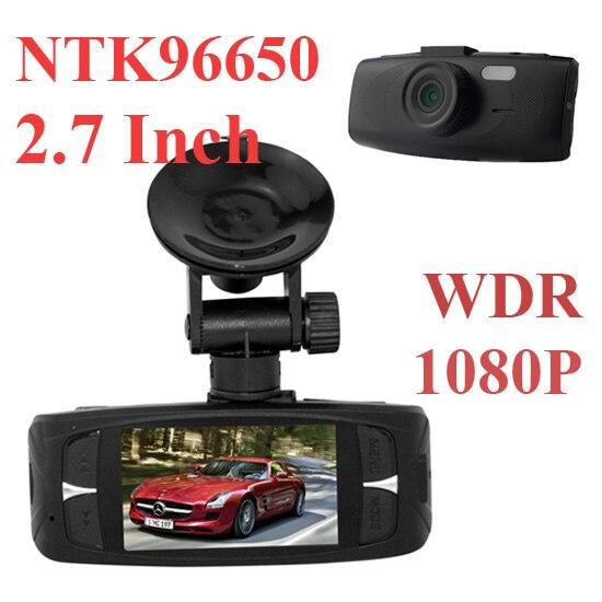 "imágenes para Cámara de la Rociada Leva del coche G1WHT Hd1080p 2.7 ""LCD DVR Coche Dash Cámara Grabadora de g-sensor HDMI Novatak 96650 para Coche-detector de DVR"