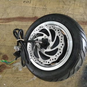 Image 2 - Dualtron 3 Motor with tire and disc Dualtron 3 wheel