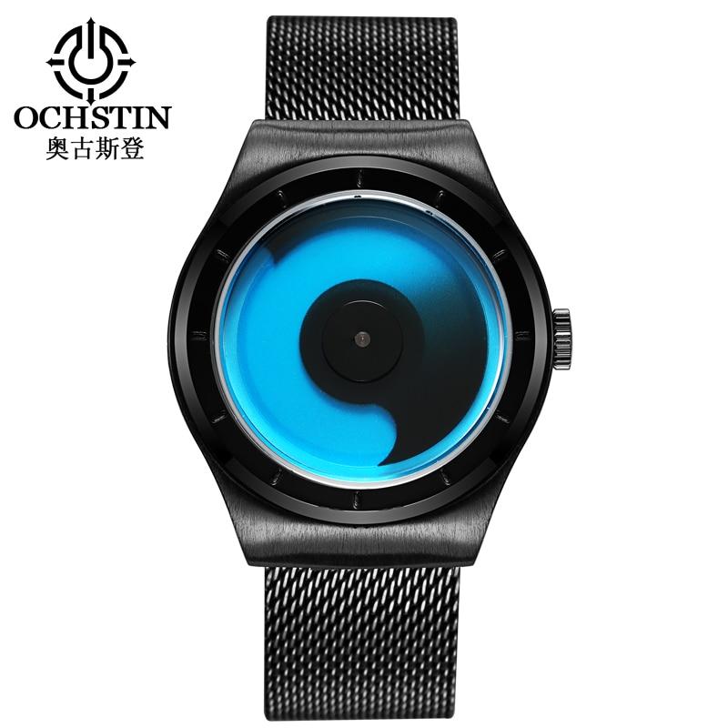 Moda en lüks marka OCHSTIN saatler erkekler kuvars-İzle Askeri İzle Erkekler saat adam montre relogio masculino erkek saat
