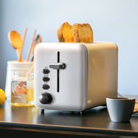 YEATION Retro Stainless Steel Toaster Automatic Fast Heating Toasters Household Breakfast maker Sonifer