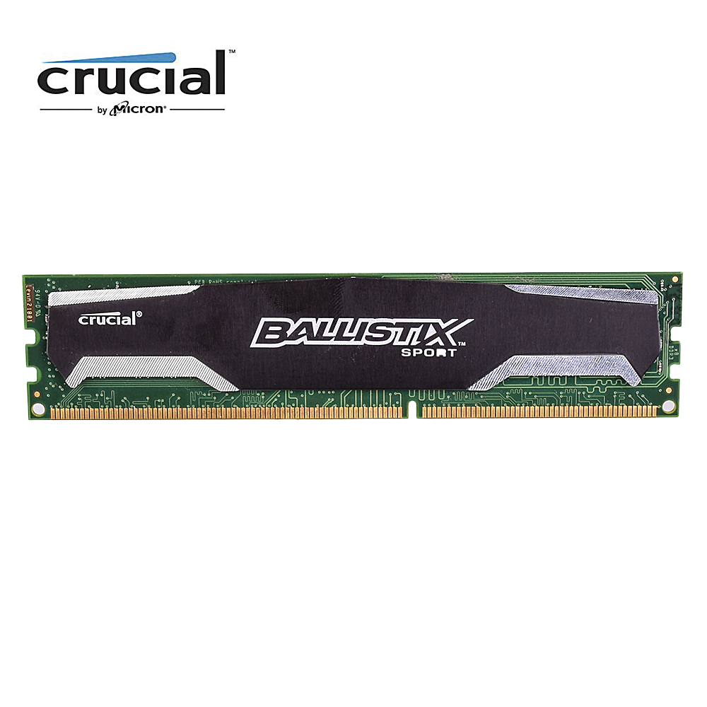 Crucial Ballistix Sport DDR3 4GB 1333MHZ 8G=2x4GB DDR3-1333 PC3-10600 CL9 1.5V 240pin DIMM desktop memroy man nuo usb rechargeable soft silicone tongue vibrator massage g spot oral licking sex toys for women clitoris stimulate sextoy