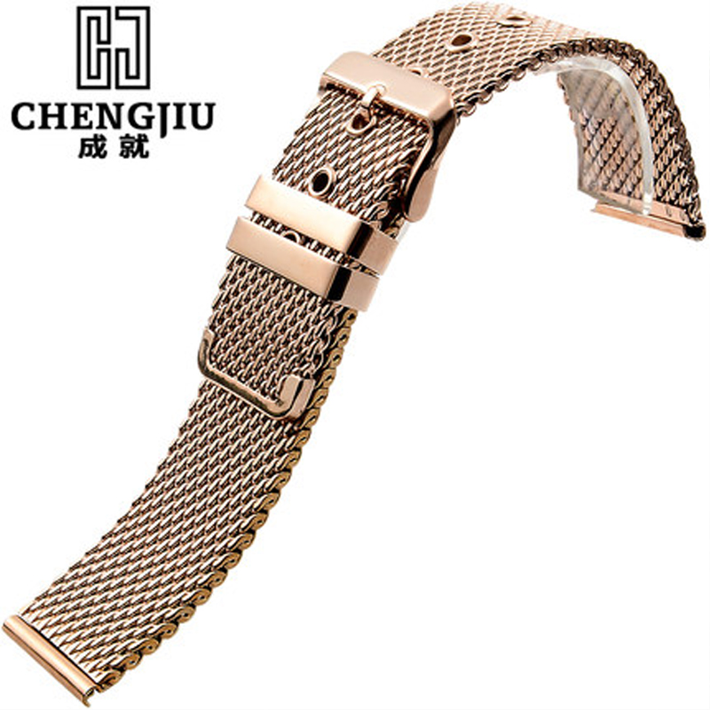 Metal Strap For Milanese/DW Watch Men Mesh Strap 18 20 22 24 mm Stainless Steel Watchbands Male For Daniel Wellington Watch