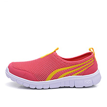 Summer Women Sneakers Summer Semi-Drag Lady New Trend Sport Light Mesh Walking Jogging Shoes Running Shoes For Male Footwear