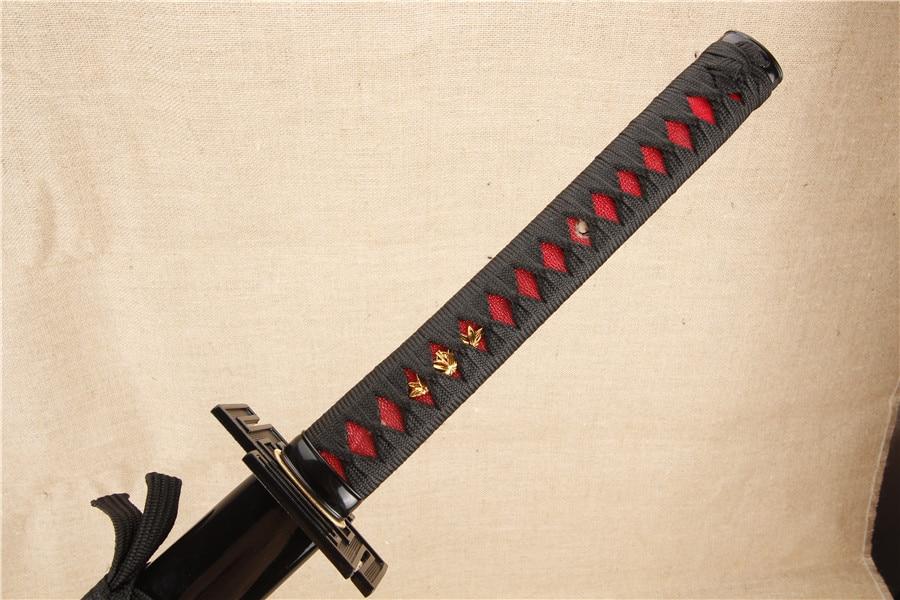 BLEACH Kurosaki cosplay katana samurai ճապոնական սուրը - Տնային դեկոր - Լուսանկար 3