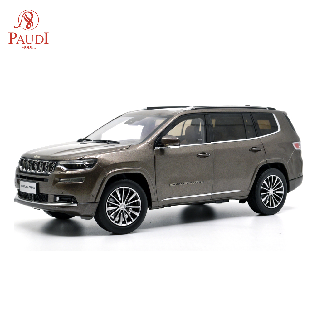 Paudi Model 1/18 1:18 Scale Jeep Grand Commander 2018 Brown Diecast Model Car Toy Model Car Doors OpenPaudi Model 1/18 1:18 Scale Jeep Grand Commander 2018 Brown Diecast Model Car Toy Model Car Doors Open