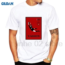 GILDAN LEV YASHIN T SHIRT RUSSIA CCCP FOOTBALLER DYNAMO MOSCOW LEGEND CAMISETA SOCCERER T-Shirt Summer Novelty Cartoon Shirt