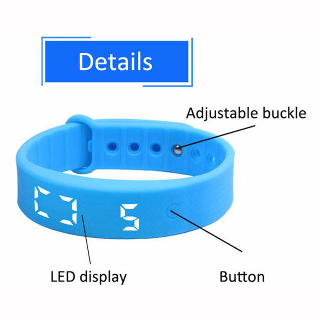 Start Smart Band Pedometer Sports Watch Calories Pedometers Unisex Fitness LED Step Counter For Outdoor Walking Running
