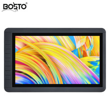 BOSTO KINGTEE 13HDV3 with TWO cable,easy to carry no need power to use, interactive pen display,pen dispaly,tablet monitor