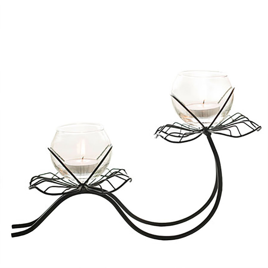 European Candle Holders Wrought Iron Candlelight Dinner Romantic Wedding Table Candlestick Decoration Home Decorations 50X131