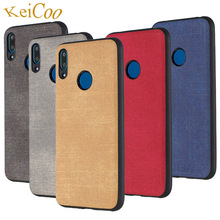 Jeans Texture Series Soft TPU Cases For HUAWEI Y6 Prime Pro 2019 Case Y7 32GB Ultra-thin Covers