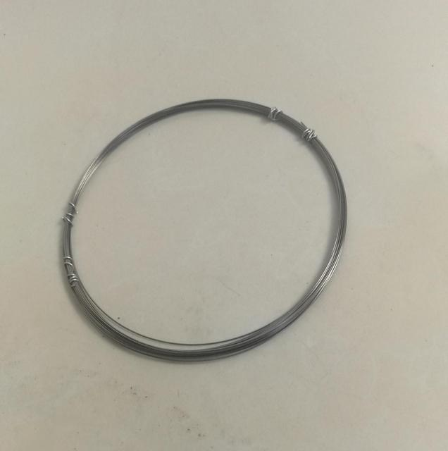 0.5mm Diameter High Purity Industry Experiment DIY Bright Tungsten Wire Vacuum Heating W Material, about 5 meters