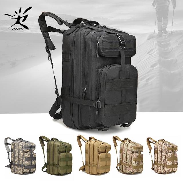 df9e87f57391 45L Rucksack Big Tactical Backpack Military Backpack Tactical Bag Outdoor Camping  Army Backpack Hiking Trekking Hunting Fishing