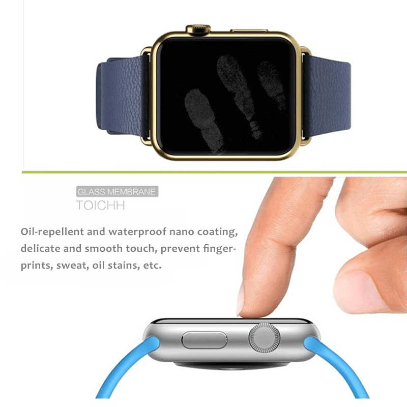 2.5D Ultra Thin Tempered Glass For Apple Watch Series 1 2 3 4 44 38 42 40 mm Screen Protector Protective For iWatch Glass Film