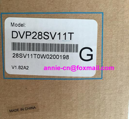 New and original  DVP28SV11T  DELTA  PLC 16DI/12DO Transistor dvp32es200t delta new original plc es2 series 100 240vac 16di 16do transistor output