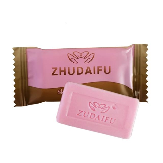 zudaifu Sulfur Soap Skin Conditions Acne Psoriasis Seborrhea Eczema Anti Fungus Bath whitening soap shampoo soap 1