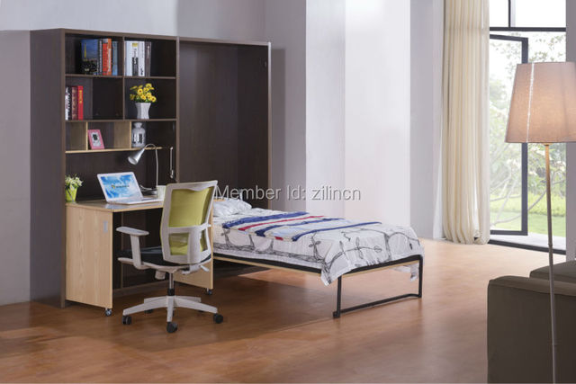 Space Saving Innovative Folding Bunk Bed Wall Hanging Bed