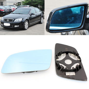 For Buick Park Avenue 2006-2011 Side View Door Mirror Blue Glass With Base Heated 1 Pair