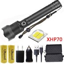 Litwod Z20 1282 CREE оригинальный XLamp XHP70 и XHP50 высокий мощный тактический светодиодный фонарик свет 18650 и 26650 фонарь на батарее