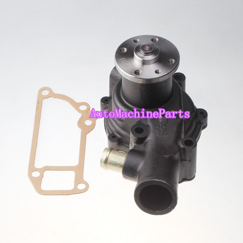 New Water Pump For Hitachi Excavator EX120-2 For ISUZU engine 4BD1 water pump 6 holes 1 13610 877 0 for 6bd1 engine excavator ex200 2