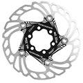 ABGZ-Mi.Xim 203 мм велосипедные тормозные роторы велосипедные диски из нержавеющей стали плавающие велосипедные тормоза Mtb велосипедные аксессуа...