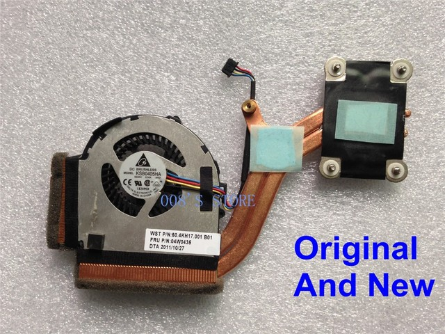 Новый Оригинальный CPU Кулер Вентилятор Радиатора Для Lenovo ThinkPad X220 X220I X220T X230 X230T 04W0435 KSB0405HA DELTA 60.4KH17.001
