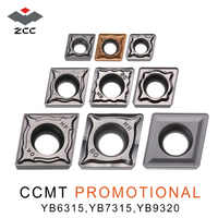 10pcs/lot promotional carbide turning inserts CCMT060204 CCMT09T304 CCMT 120404 08 for steel cast iron CNC lathe tools
