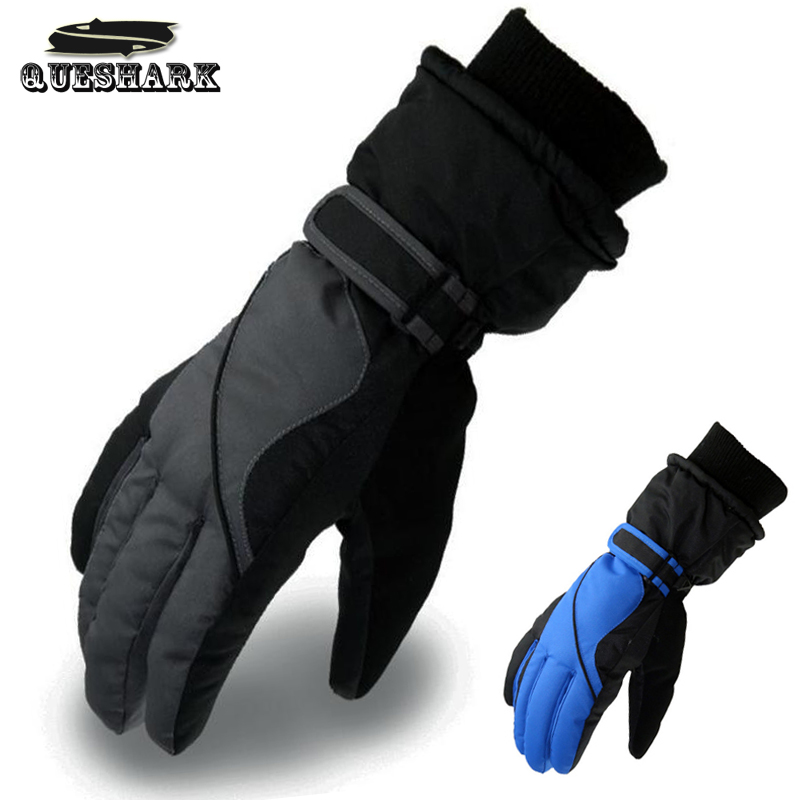 Waterproof Ski Gloves Men Women Warm Skiing Snowboard Gloves Snowmobile Motorcycle Riding Winter Outdoor Cycling Snow Gloves
