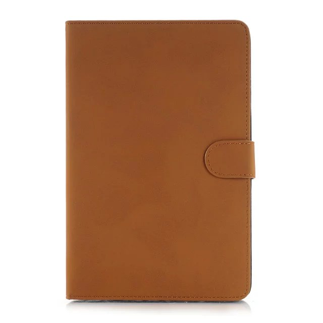 Retro Cowhide Grain Folio Stand PU Leather Magnetic Smart Wake Sleep Function Case Cover For Apple Ipad Pro 12.9 inch Tablet
