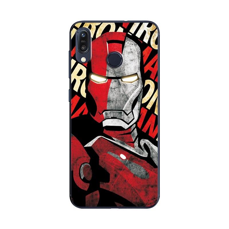 Image 3 - Newest Art Printed Case For Asus Zenfone Max M1 ZB555KL Novelty Super Phone Case Zenfone ZB555KL Back Cover For Asus ZB555KL 5.5-in Fitted Cases from Cellphones & Telecommunications