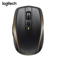 Профессиональный Logitech MX anywhere2 Беспроводной Bluetooth Мышь игровой ноутбук Мыши компьютерные PC Gamer натуральная Unifying Перезаряжаемые