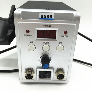 Image 3 - 700W Electric Hot Air Soldering Station 8586 SMD Rework Heat Gun For Welding Repair