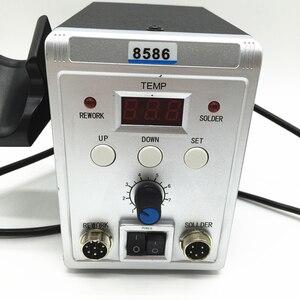 Image 3 - Station de soudage à Air chaud électrique 700W, 8586 SMD, pistolet thermique pour réparation et soudage