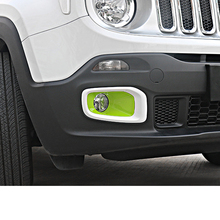 Lsrtw2017 Abs Car Foglight Cover Day Light Trims for Jeep Renegade