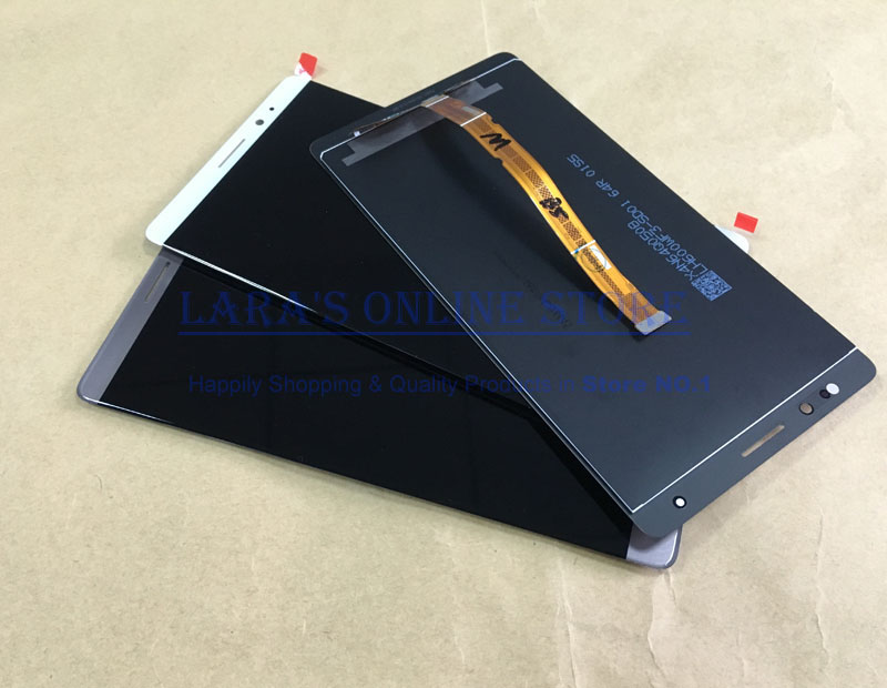 for Huawei Mate 7 Mate 8 Mate 9 LCD Screen Display with Touch Panel Digitizer with Sensor Flex Cable Replacement Spare Parts