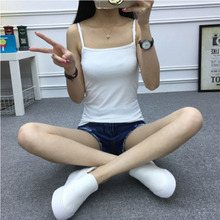 Y Cross Tops Basic Vest New White Tank Women Summer  Casual Camisole for Running Fitness Female 2019 Hot Sale