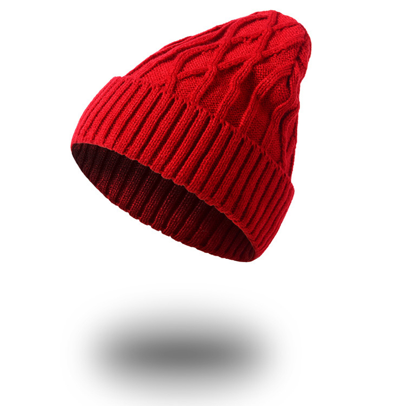1pcsWinter Beanies Hats Solid Knitted Cap Casual Beanies Women's Hat Skullies Beanie Unisex Warm Hat For Women Caps Bonnet Homme new winter beanies solid color hat unisex warm grid outdoor beanie knitted cap hats knitted gorro caps for men women