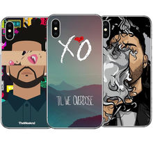 Baru The Weeknd Starboy Penyanyi Hard Pc Ponsel Case Menutupi UNTUK iPhone 5 5 S 6 6 S plus 8 8 Plus X XR X Max(China)