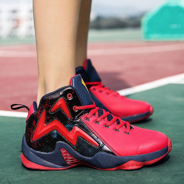 0a281a51e5f Women Men Basketball Shoes For Sport Sneakers Mens Breathable Air Cushion  Lace Up Male 2018 New Brand Couples Jordan Shoes 39-46