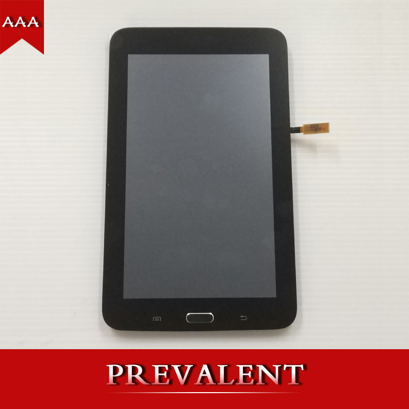 For Samsung T110 SM-T110 Galaxy Tab 3 Lite 7.0 Full LCD Display Panel Monitor + Touch Screen Digitizer Sensor Assembly + Frame
