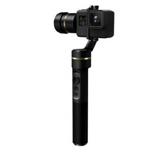 Feiyu G5 3-Axis Handheld Gimbal for GoPro HERO5 5 4 Xiaomi yi 4k SJ AEE Action Cams Splashproof Bluetooth-enabled control [hk stock][official international version] xiaoyi yi 3 axis handheld gimbal stabilizer yi 4k action camera kit ambarella a9se75 sony imx377 12mp 155‎ degree 1400mah eis ldc sport camera black