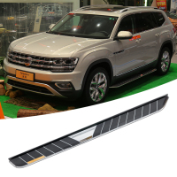 Best price light running boards For Volkswagen atlas door side 2017 2018 side step Nurf Bar