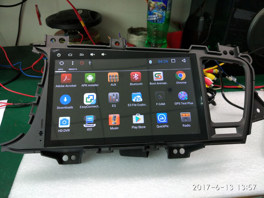 100 Real Photo Display 9 Android 60 Car DVD Player For