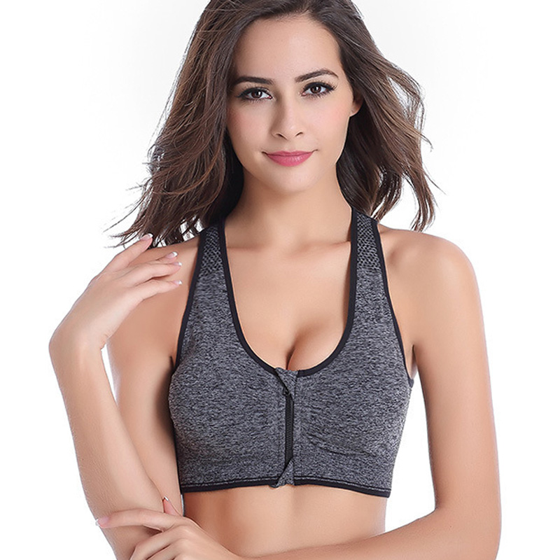 64bd534803a44 ... Women Shockproof Sports Bra Running Yoga Vest Fitness Underwear