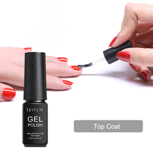 LILYCUTE 7ml Peel Off Base Coat Matte Top UV LED Gloss Soak Gel Polish Long Lasting Nail Art Care Design Tools