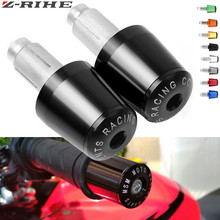 For YAMAHA YZF R1 R6/S V-MAX XSR 700/900 ABS Motorbike Handlebar Grips Ends Universal Motorcycle 7/8 22mm Hand Bar End X-ADV