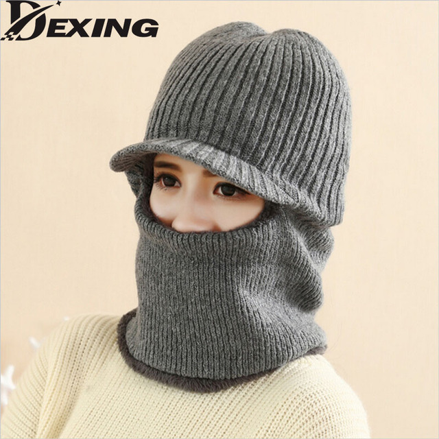 [Dexing]ski face mask winter Hat  Neck Beanies Skullies Balaclavas Motorcycle Skiing Cycling Winter Caps Face Mask Scarf