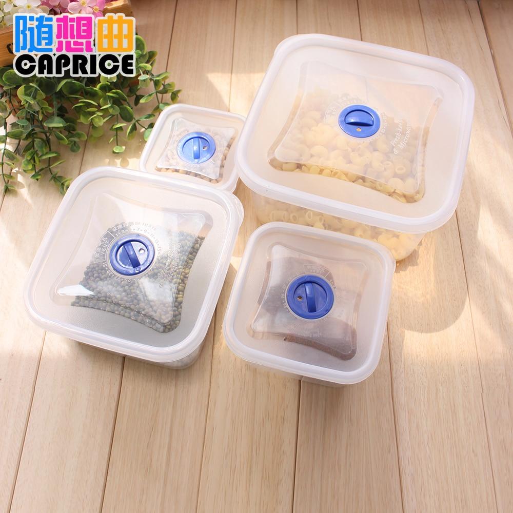 Protection de l'environnement boîte carrée cuisine boîte de rangement boîte de conservation des aliments peut être utilisé dans la réfrigération du four à micro-ondes