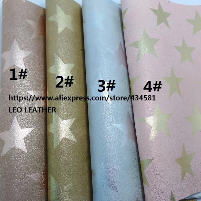 aliexpress com buy 2 pcs a4 size 21x29cm printed stars on pu